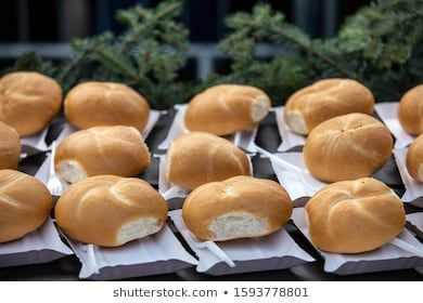 Freshly Baked Rolls On Paper Trays Stock Photo (Edit Now) 1593778801#baked #edit #freshly #paper #photo #rolls #stock #trays
