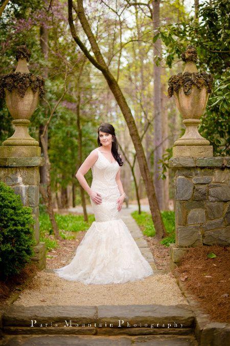 Bridal portrait session swan house atlanta history center ver wang gown Wedding ~ Paris Mountain Photography Blog