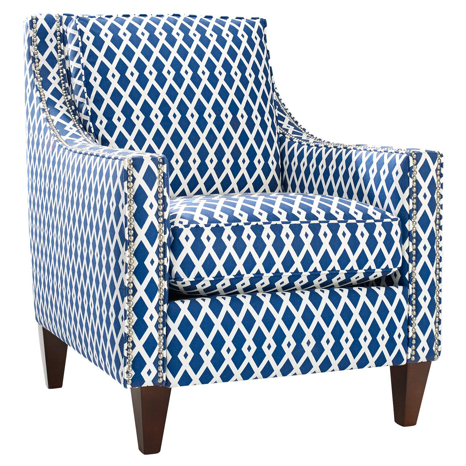 have to have it. homeware pryce accent chair - ultramarine $749