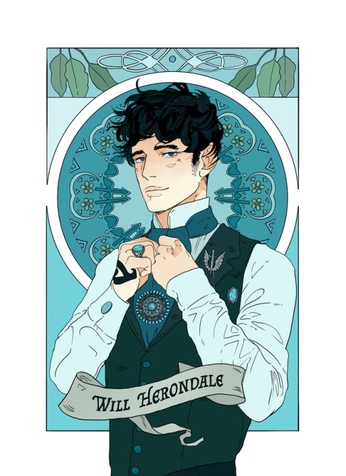 Will Herondale from the 10th Anniversary Edition of Clockwork ...