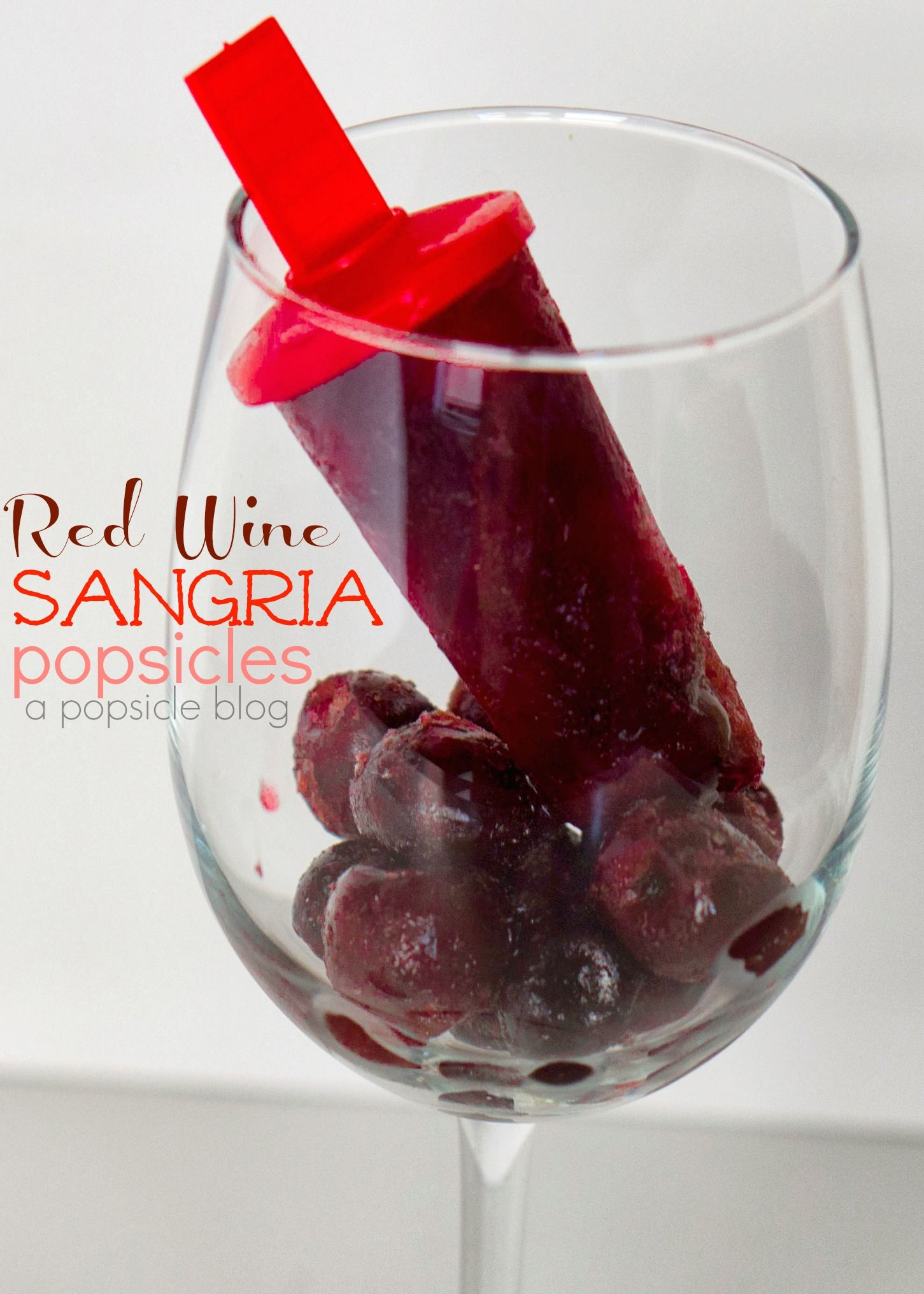 Red Wine Sangria Popsicles Recipe Recipe Red Wine Sangria Popsicle Recipes Sweet Red Wines