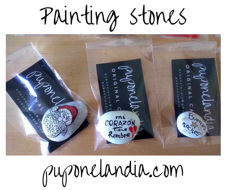 Una idea original para los regalos de Navidad: pintar sobre las piedras. Estas están pintadas con colores acrílicos y fosforescente, lo cual quiere decir que se iluminan en la oscuridad. Tienen una…