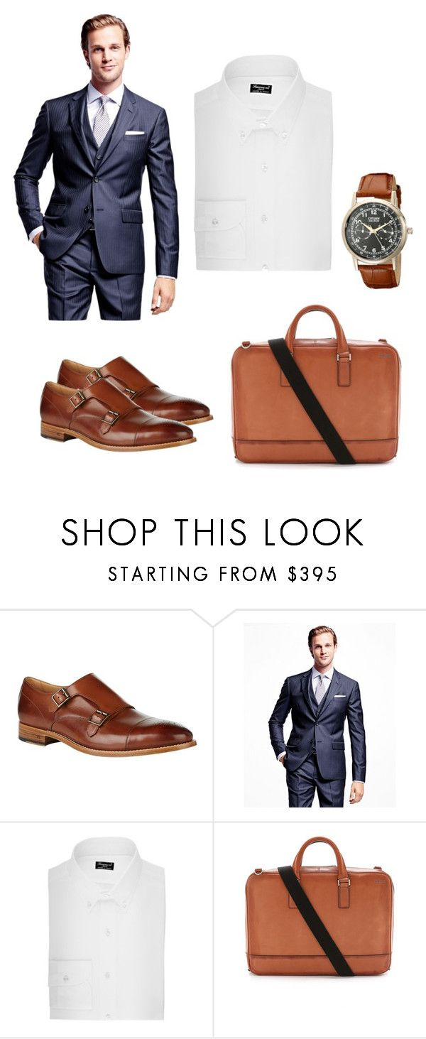 """""""The Modern Workman with Classy Touches"""" by design360 ❤ liked on Polyvore featuring Paul Smith, Brooks Brothers, Finamore, Jack Spade, Citizen, modern, women's clothing, women's fashion, women and female"""
