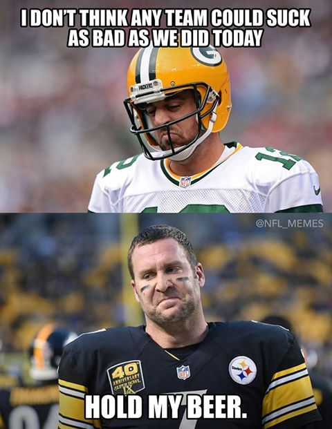 Poor Aaron Poor Ben But Whatever The Falcons Are Going To The Super Bowl Funny Football Memes Nfl Memes Football Funny