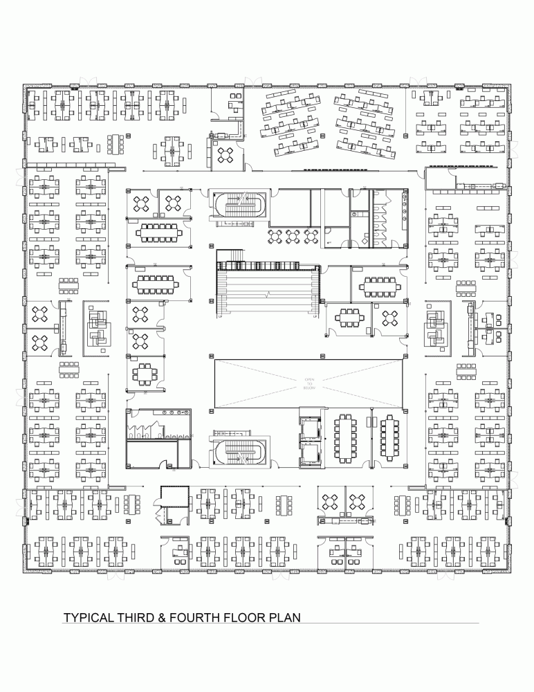 Gallery Of Vestas North American Corporate Headquarter Ankrom Moisan Architects 11 Office Floor Plan Office Building Plans Office Layout