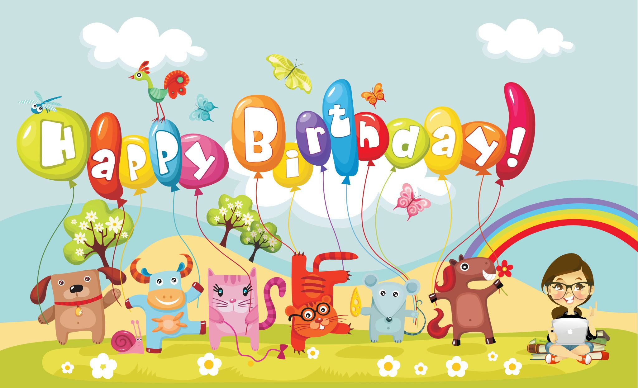 Happy Birthday Wishes Free Download Wallpapers Birtday And Other