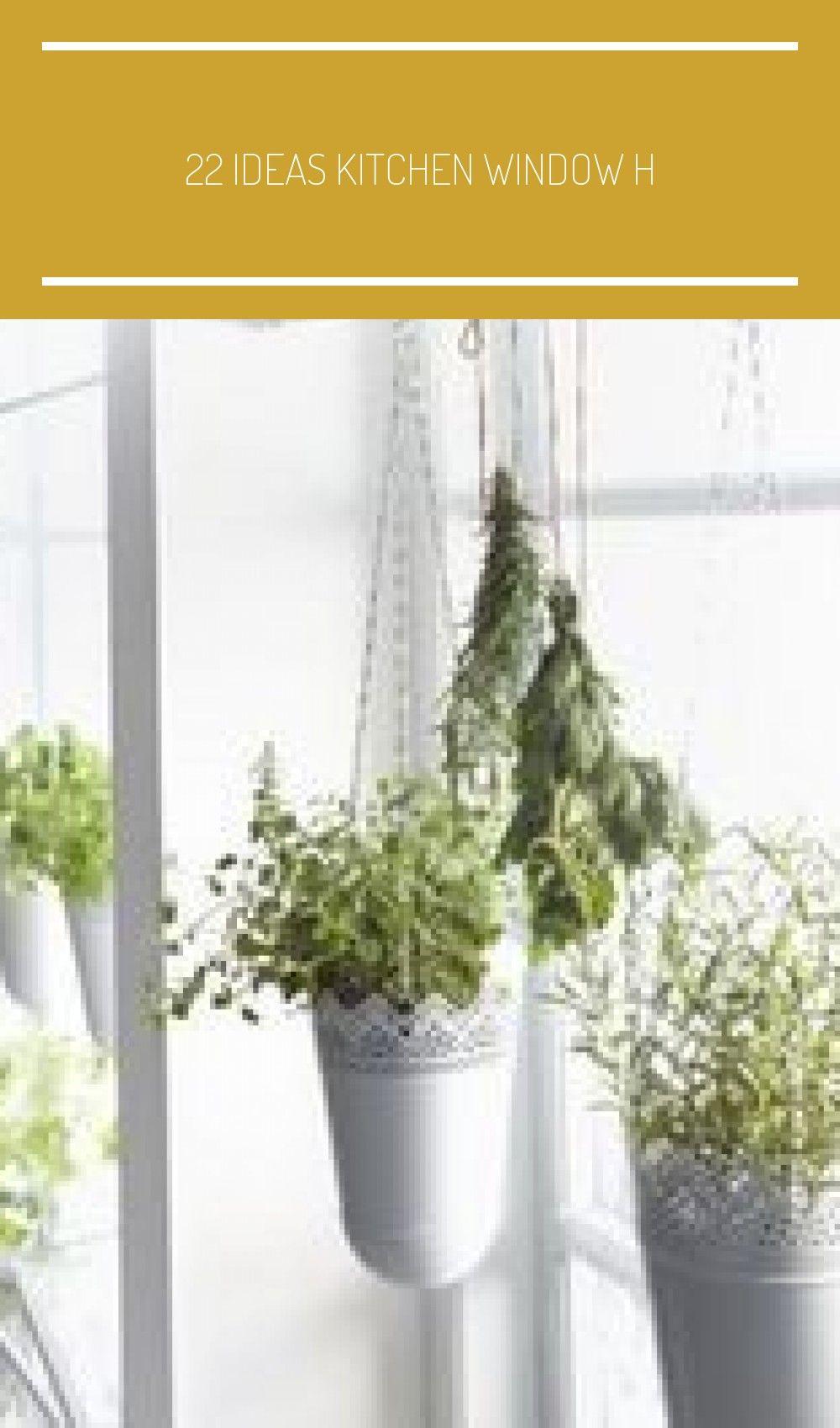 22 ideas kitchen window h #hangingherbgardens