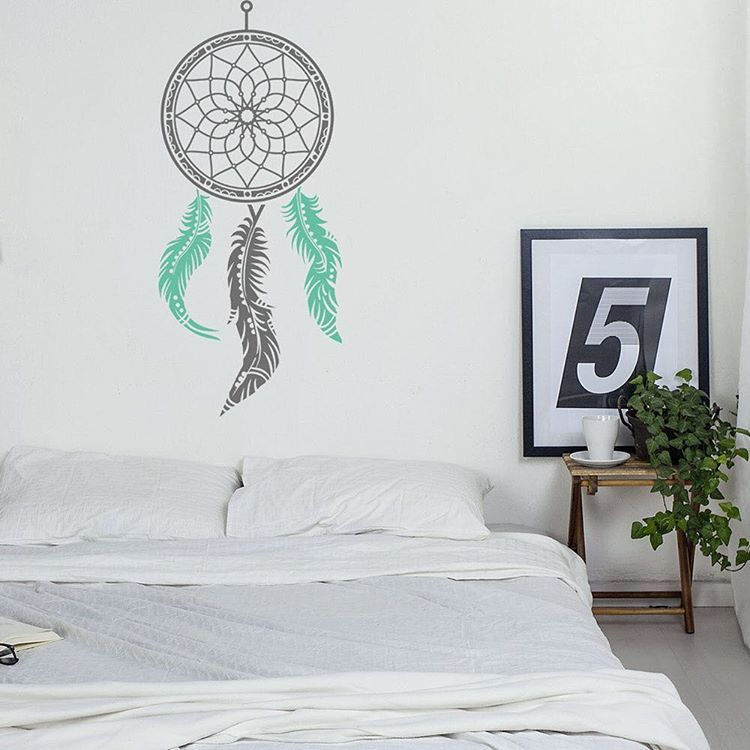 Vinyl Design On Instagram: A Dream Catcher Wall Decal For A Touch