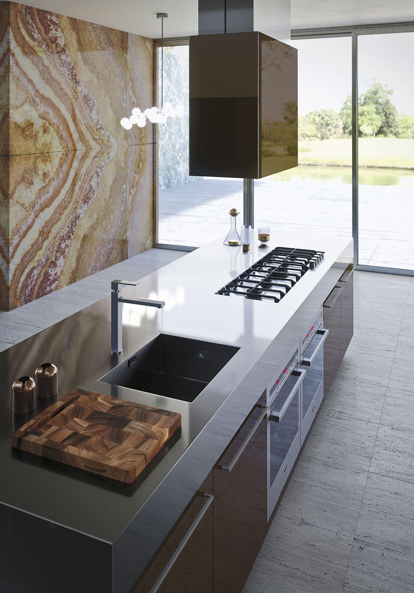 Deco Salle De Bain Beige Et Marron ~ Opera Collection System Authentic Kitchens From Snaidero Walls