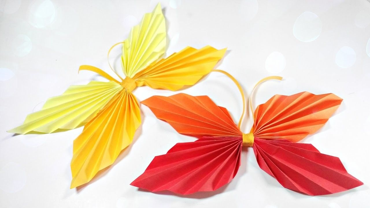 How to make paper origami butterfly easy step by step for kids for how to make paper origami butterfly easy step by step for kids for beginners instructions tutorial jeuxipadfo Gallery