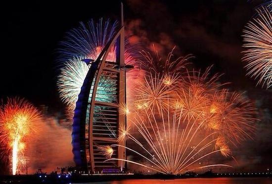 Ano novo Dubai