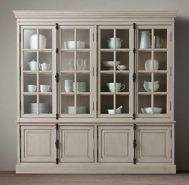 Dining Room Doors: French Casement 4-Door Sideboard & Hutch In 2019