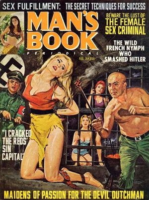 1950s Porn Magazines Covers -