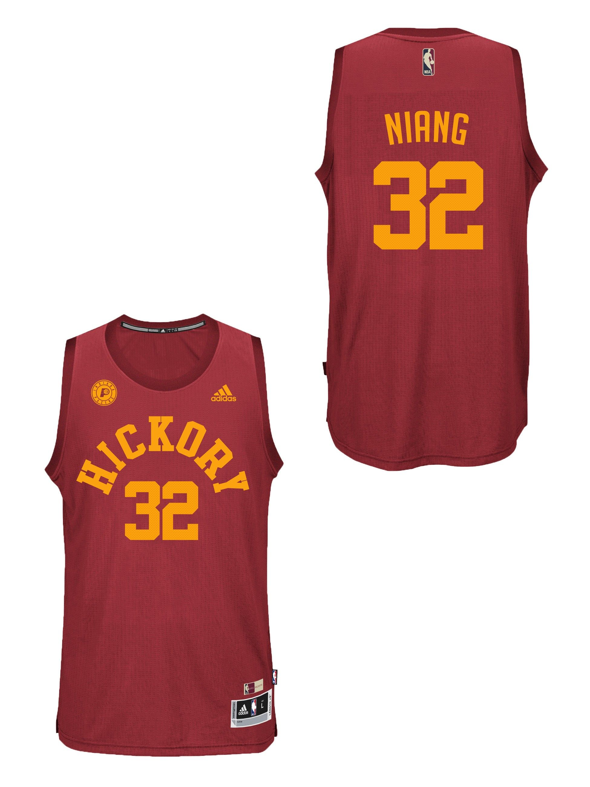 2105c6c17d2 Pacers Hickory  32 Niang Jersey