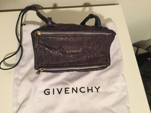 Details about Givenchy Mini Pandora Pepe Lambskin Blue Wrinkled ... e154c28d96ab7