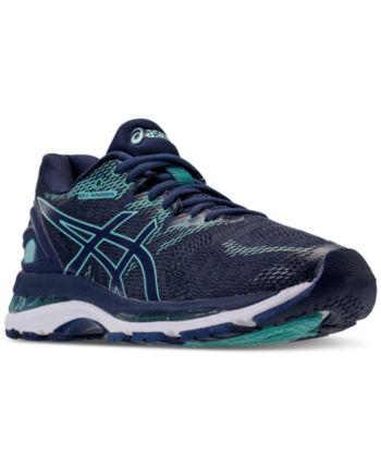 bd9bb56617dd92 Asics Women s Gel-Nimbus 20 Running Sneakers from Finish Line - Blue ...