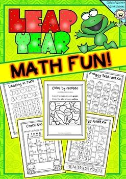 Leap Year Math | | Kindergarten | | Skip counting, Math, Fun math
