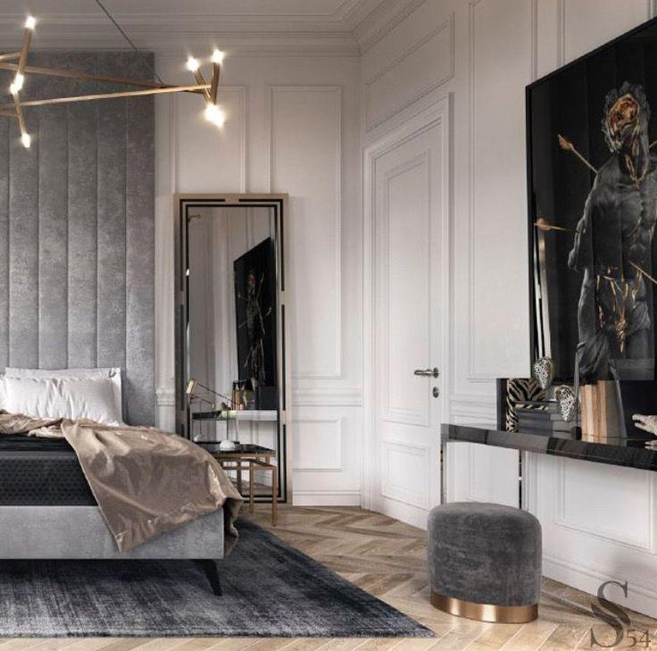 Photo of A luxe master bedroom design. #luxury3bedroomsflatlelouvre