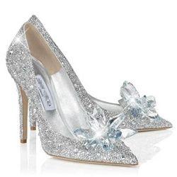 Crystal Cinderella Wedding Shoes