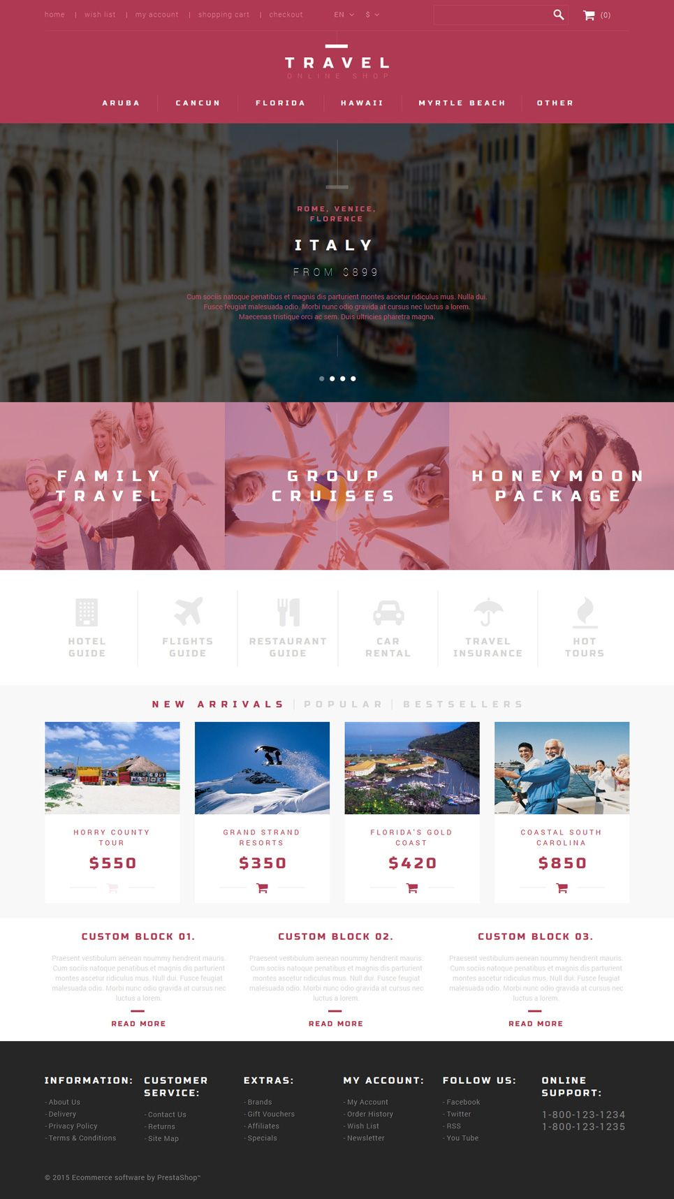 13 Awesome Travel Agents Travel Gear Ecommerce Shop Templates Travel Prestashop Themes Buildify Prestashop Themes Travel Agent Travel Agency