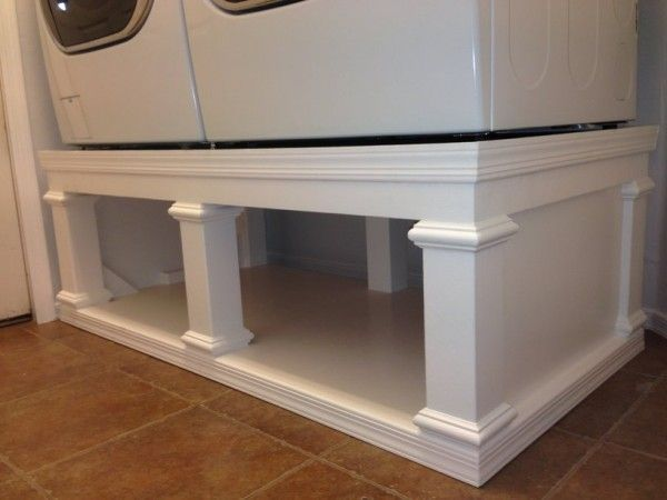 Image Result For Platform For Washer And Dryer In Basement