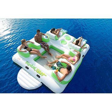 Tropical Tahiti Floating Island Inflatable Floating