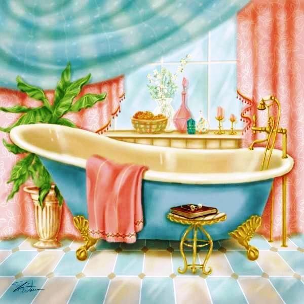 Ванная комната смешная картинка