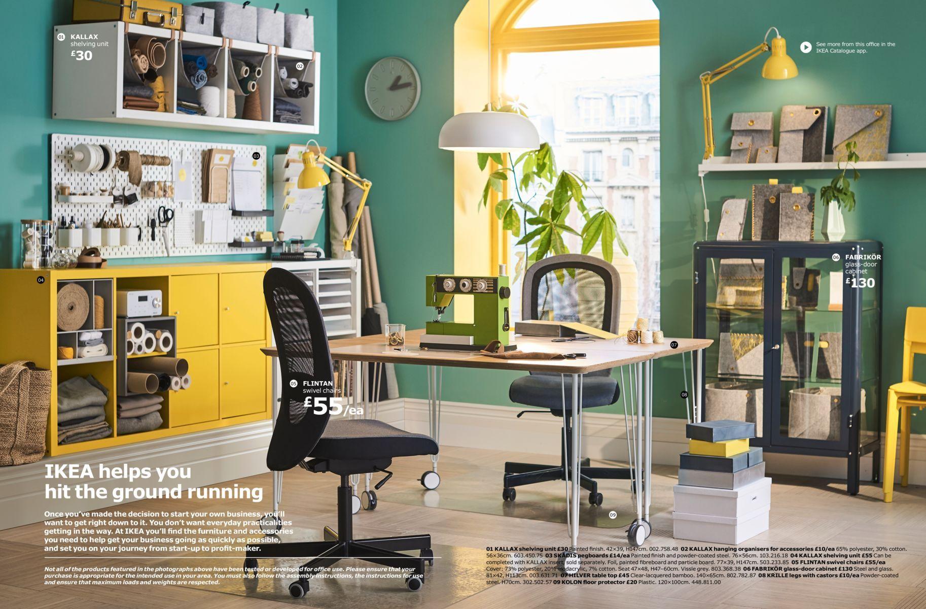 IKEA Business Brochure 2018 Entryway table modern