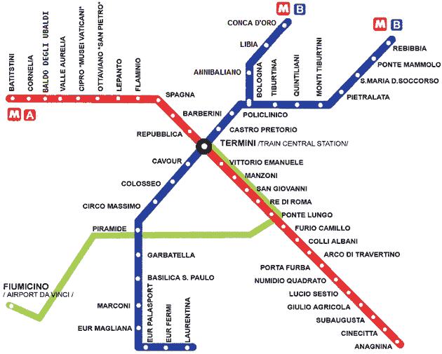 Rome Italy Subway Map.Rome Metro Map Rome Rome Map Rome Rome Italy