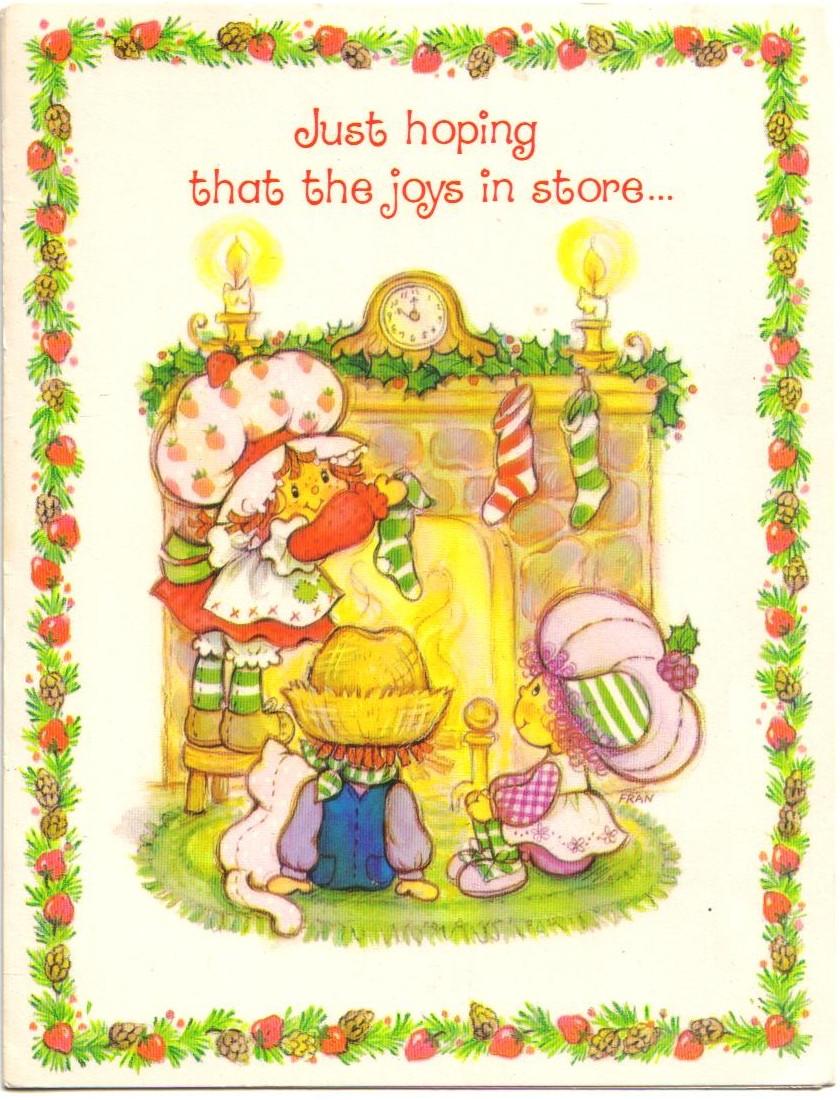 Pin by RamonaQ on Vintage SSC Greeting Cards | Strawberry ...  Vintage Strawberry Shortcake Wallpaper