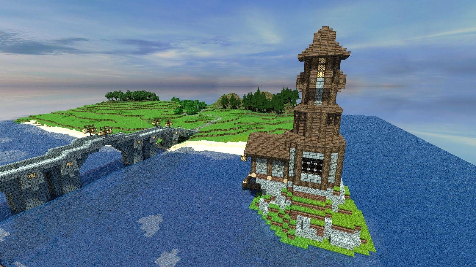 Minecraft Lighthouse Google Search