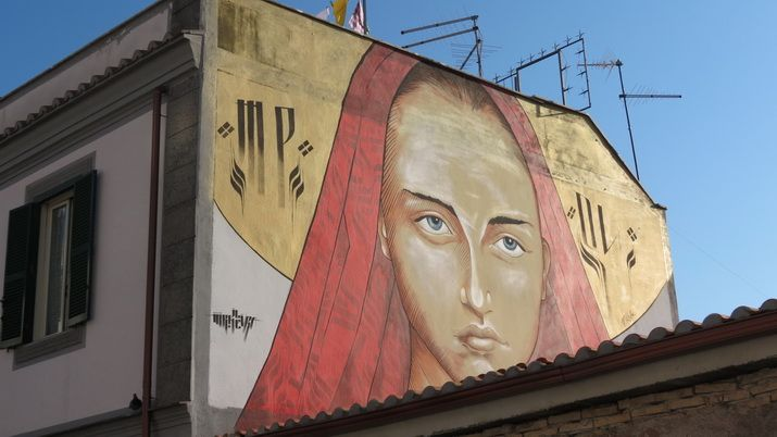 la street art invade Roma