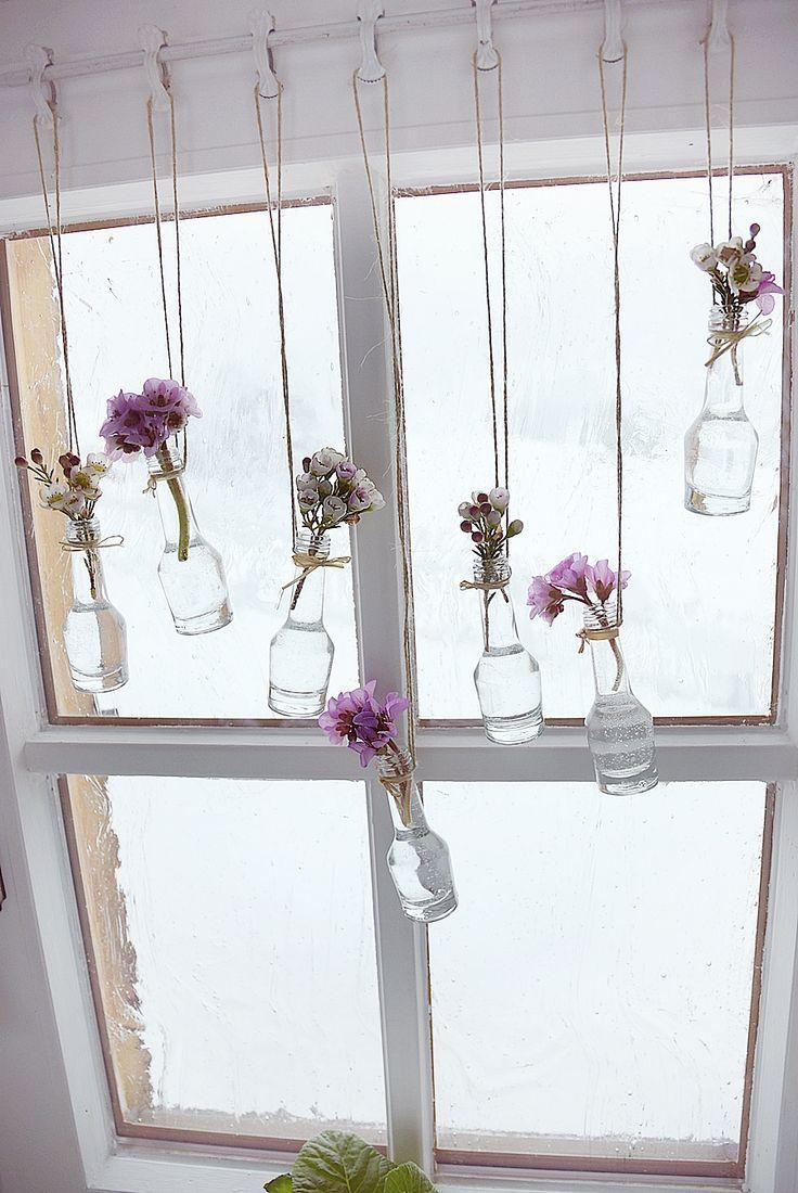 Einfaches hausfensterdesign bastel sie mit uns frühlingshafte fensterdeko  möp  pinterest