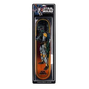 Santa Cruz Skateboards  Santa Cruz X Star Wars Boba Fett Collectible Blister Pack Deck