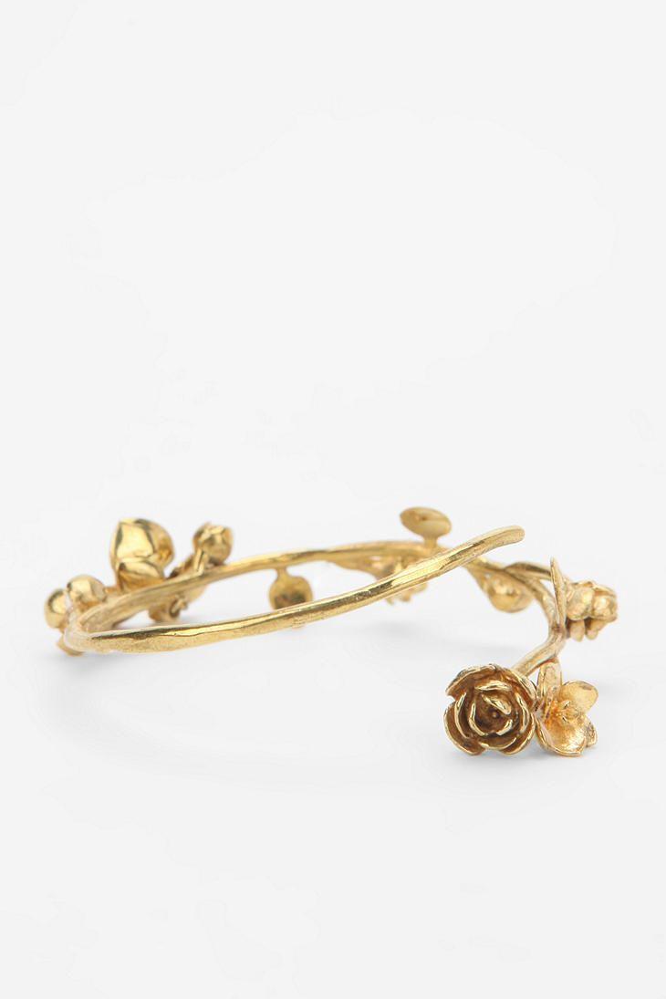 Monserat De Lucca Flower Vining Bracelet