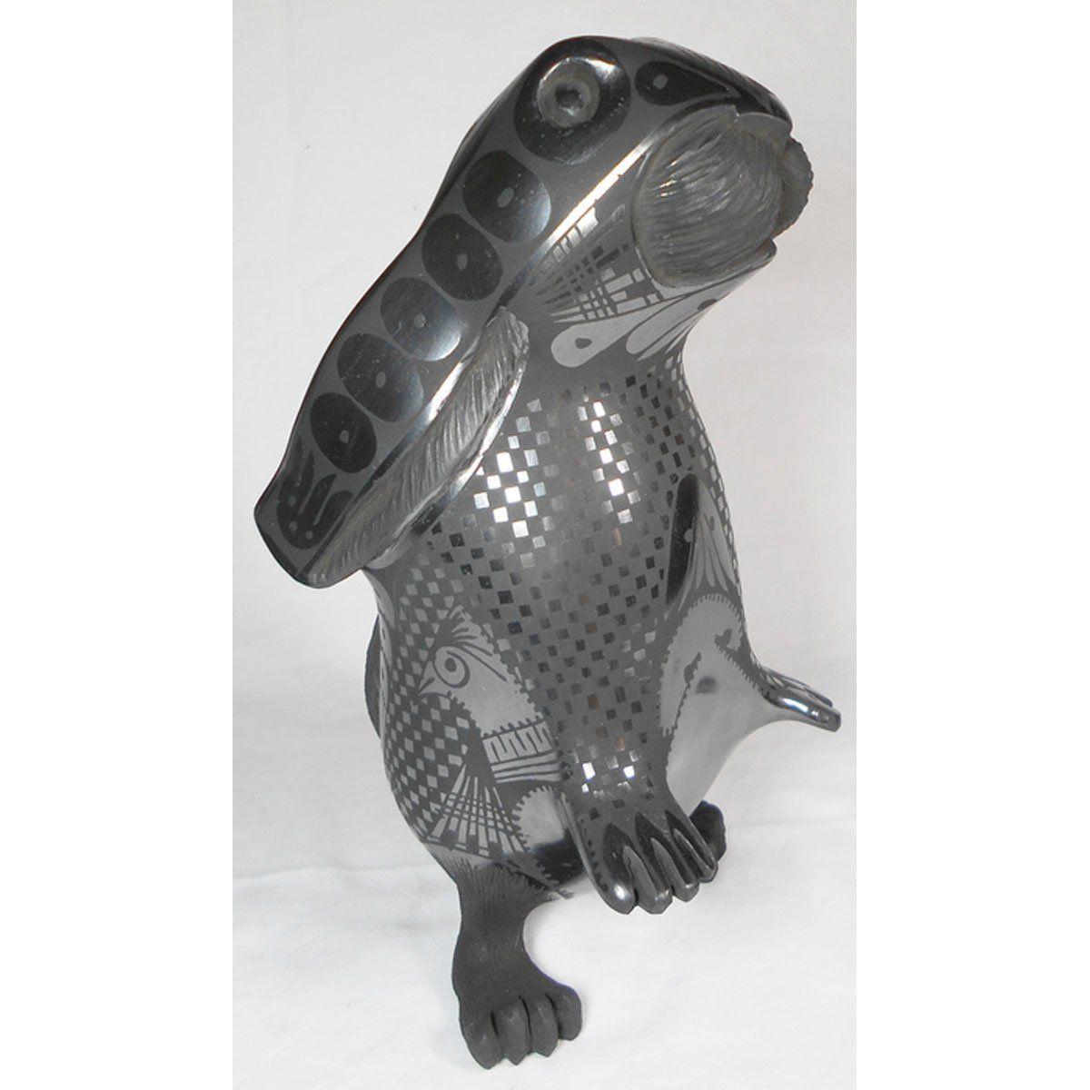 Nicolas ortiz jr sgraffito macaw effigy effigy