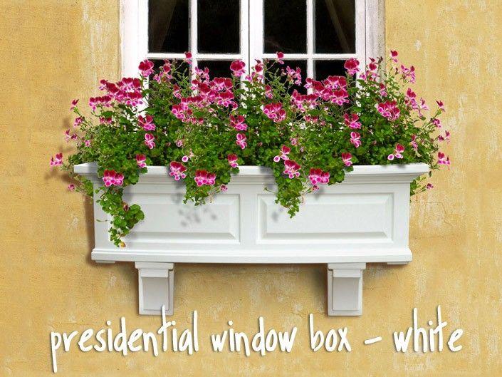 Window Boxes Planters Vinyl Window Boxes Plastic Window Boxes