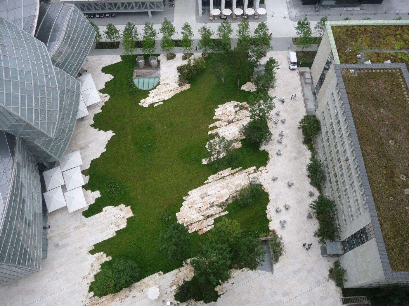 The Green Novartis Campus Basel Vogt Landschaftsarchitekten Campus Landscape Design Campus Landscape Landscape Design