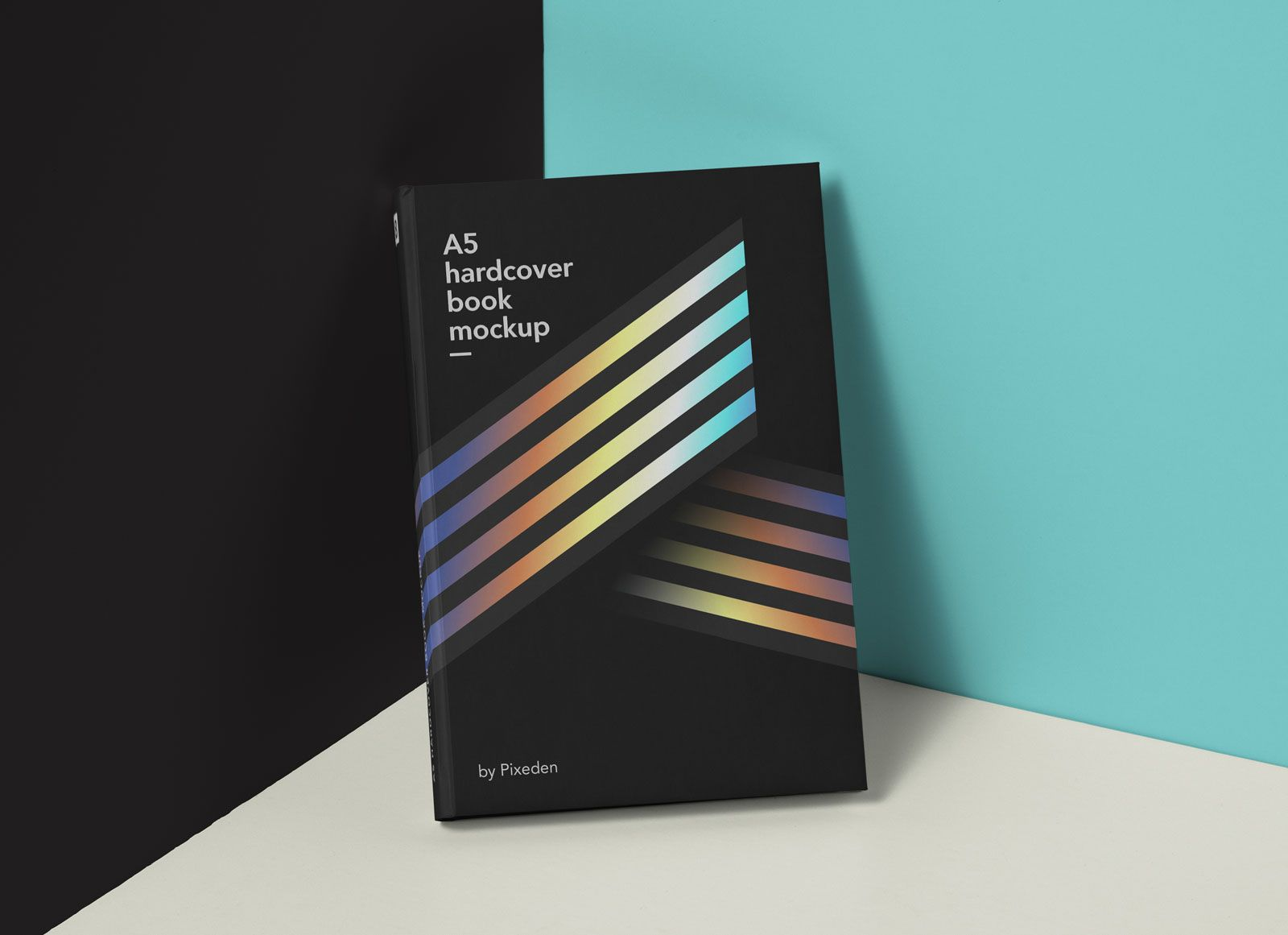 This Is Modern Presentation For A Hardcover Psd Book Mockup To Let You Display Your Designs In Style You Can Change Book Cover Mockup Mockup Stationery Mockup
