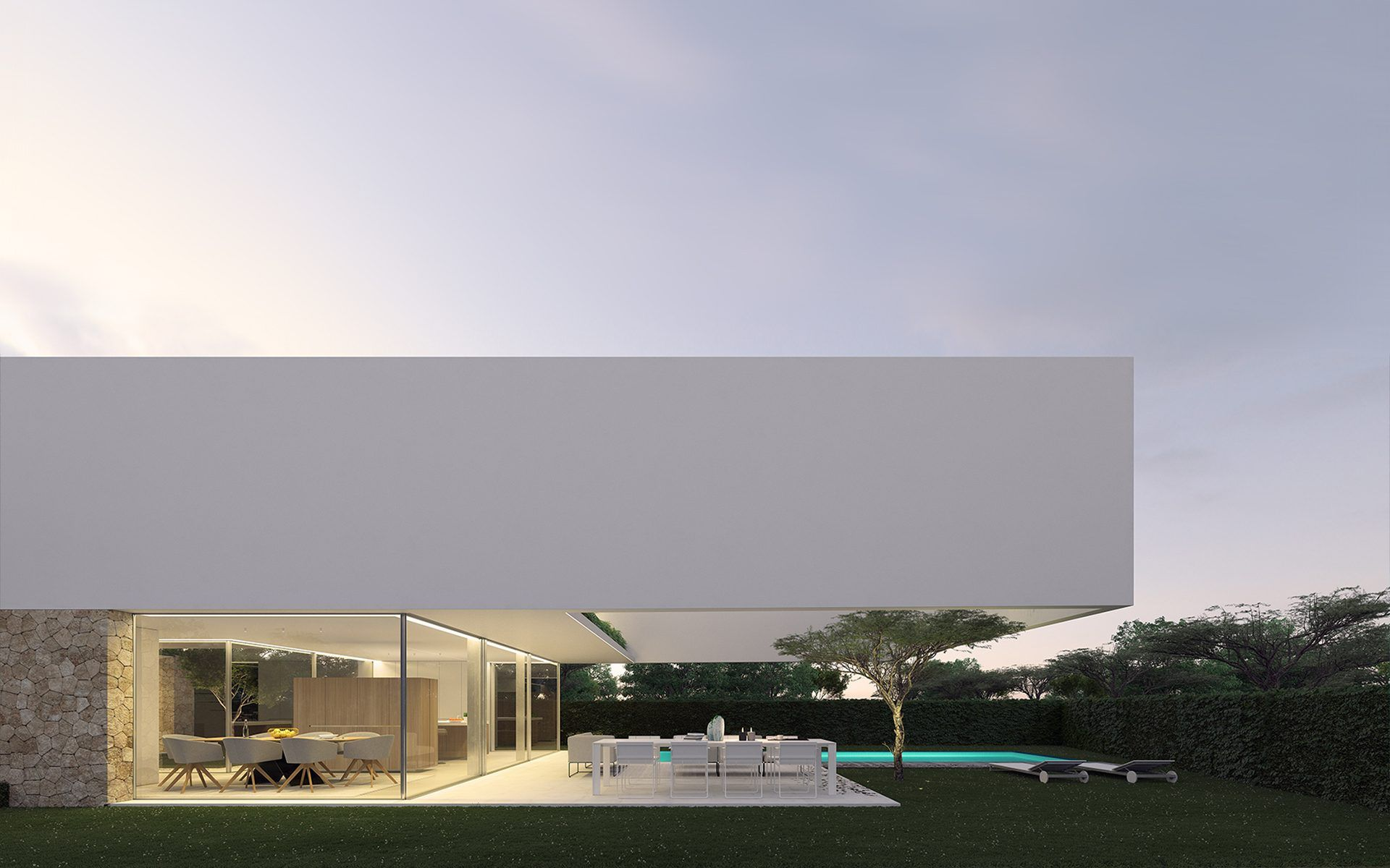 Gallardo Llopis Arquitectos - GRT - Vivienda en Santa Gertrudis ...