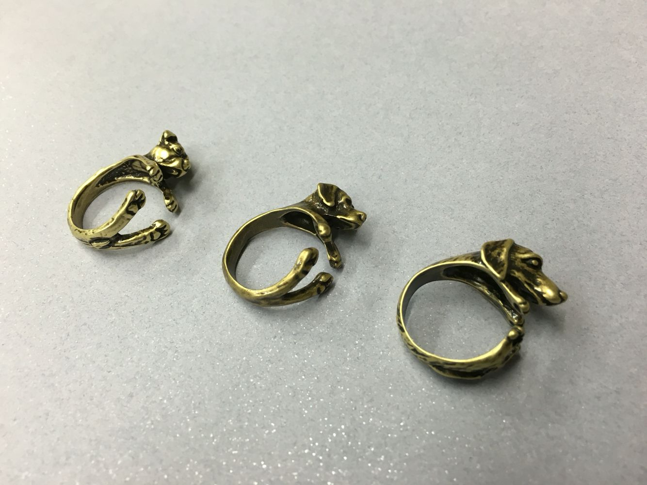 Pit Bull, Labrador Retriever & Dachshund Rings are now available in ...