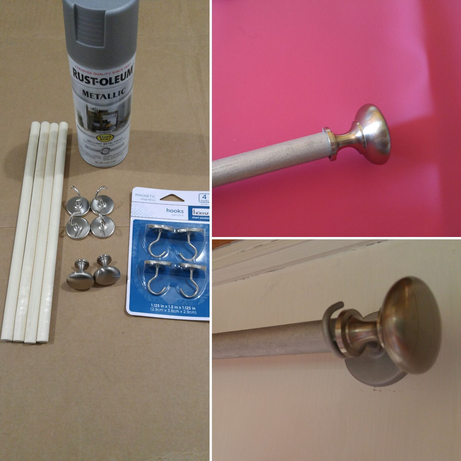 Diy Sidelight Curtain Rods Sidelight Curtains Curtain Rods