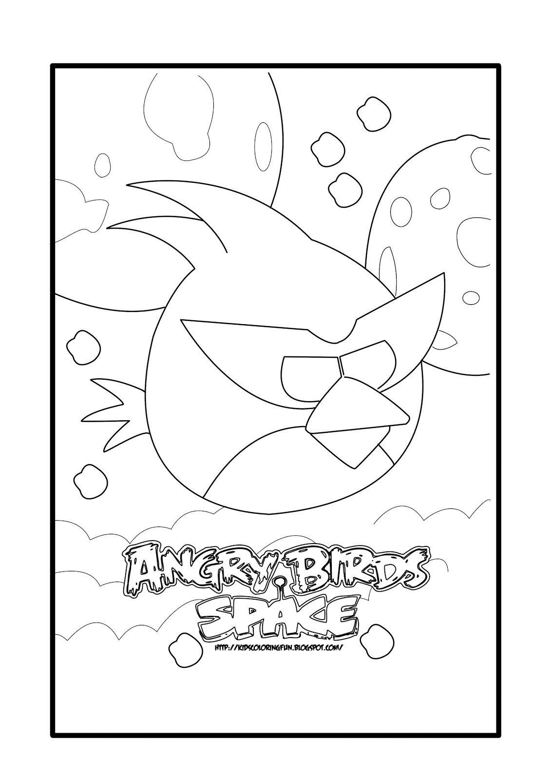 Angry Birds Go Coloring Page Angry Birds Free Printable Coloring Pages Colorpages Coloring Pages Bird Coloring Pages Space Coloring Pages