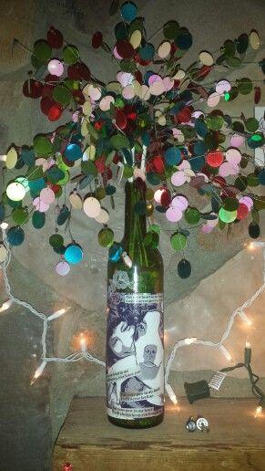#Recycledbottles #winebottles