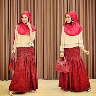 Style Hijab Untuk Wanita Gemuk in 2020 | Muslim fashion ...