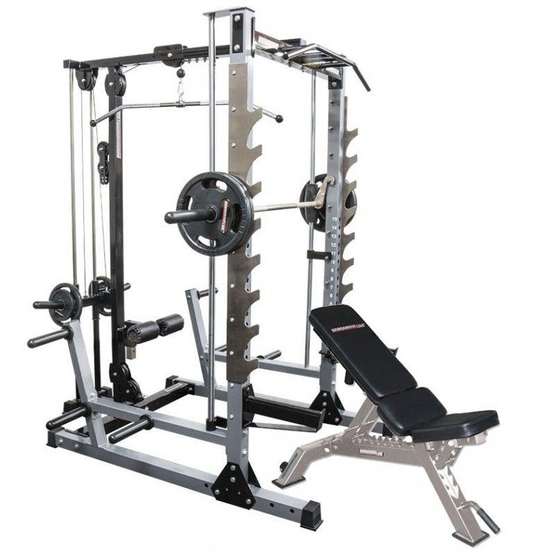 Smith Machine Master Gym Package Home Gym Set Diy Home Gym Home Made Gym