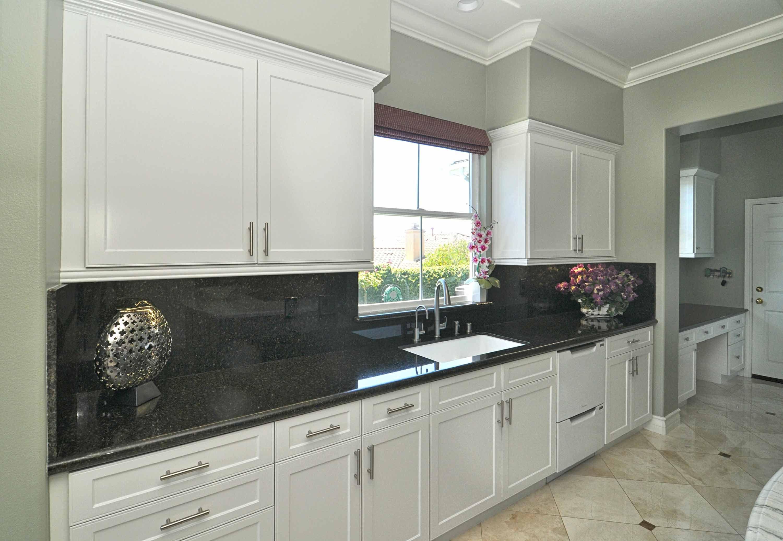 Shaker Sarasota Kitchen In Chalk White Silk And Painted Grey Doors Grey Doors Kitchen Chalk White
