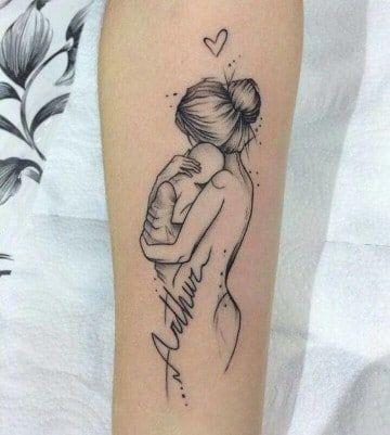 Algunas Ideas Para Tatuajes De Bebes Recien Nacidos Tattoo