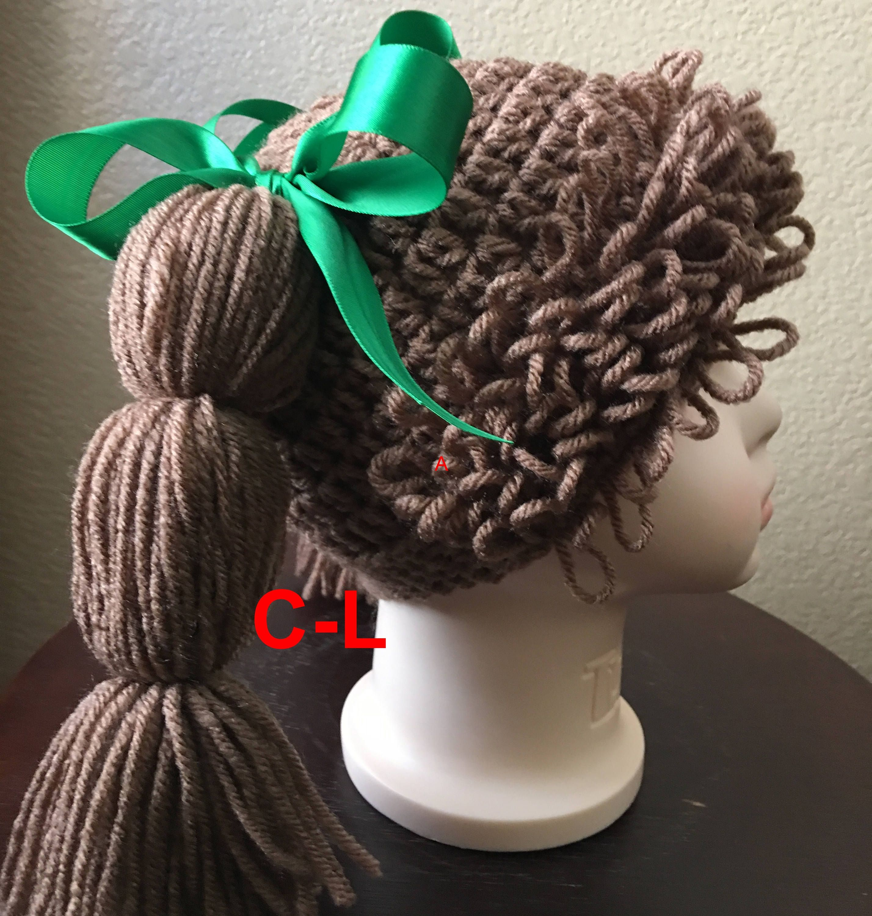 Cabbage Patch hat,for adults, teens,child\'s ,Halloween Costume,photo ...