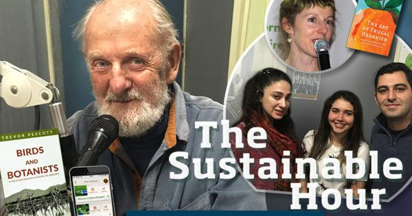 Eco-youth and eco-tourism: capturing two birds with one phone | Our first guest in The Sustainable Hour on 25 October 2017 is the Geelong-based author and columnistTrevor Pescottwho presents his new book, 'Birds and Botanists: A field naturalist's history of Geelong'. We play an excerpt of a speechAnnie Raser-Rowland, author of 'The Art of Frugal Hedonism', gave at Beav's Bar in March 2017, and we have an eco-chat with English language studentsSam,SanamandMelissafrom Deakin…